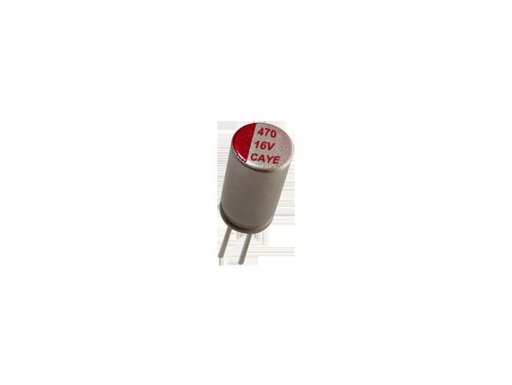 Organic Conductive Polymer Electrolytic Capacitors ▏High Ripple ▏CAYE