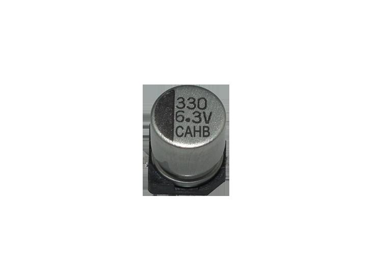 SMD Aluminum Electrolytic Capacitors ▏105℃ 1,000Hrs ▏Low ESR ▏CAHB