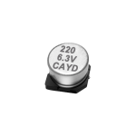 SMD Organic Conductive Polymer Electrolytic Capacitors ▏125℃ ▏CAYD