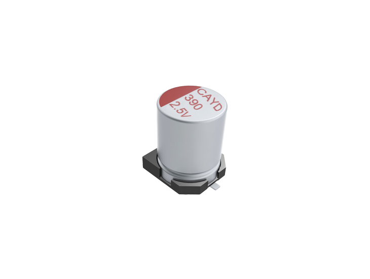 SMD Organic Conductive Polymer Electrolytic Capacitors ▏125℃ ▏CAYD (2)