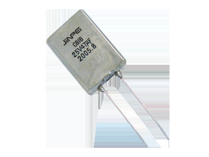 Non Polar Radial Lead Solid Tantalum Capacitors  CBIB