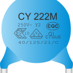AC Ceramic Disc Safety Capacitor   CCDG CCDF
