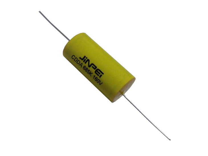 Axial Leads Metallized Plyester Film Capacitor | Cycloidal | CDDA