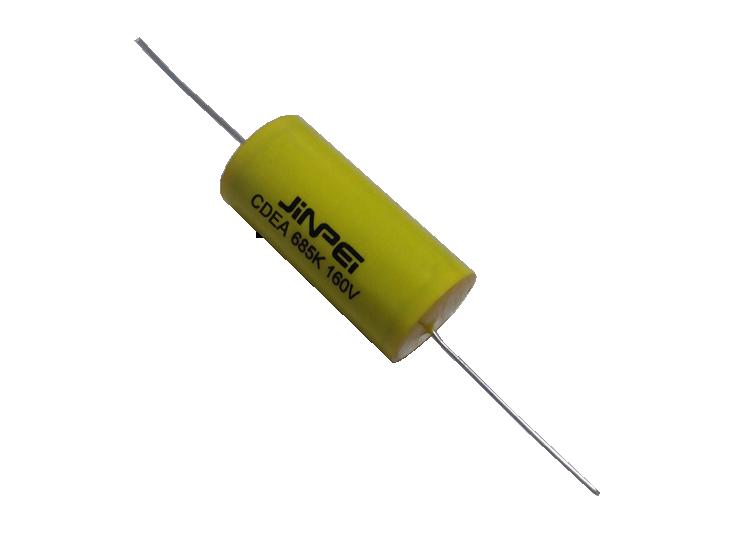 Axial Leads Metallized Polypropylene Film Capacitor | Cycloidal | CDEA